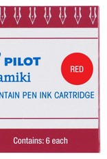 PILOT PILOT INK CARTRIDGES 6 EA RED