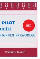 PILOT PILOT RED - INK CARTRIDGES
