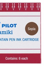PILOT PILOT INK CARTRIDGES 6 EA SEPIA
