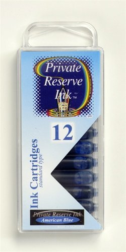 PRIVATE RESERVE PRIVATE RESERVE INK CARTRIDGES AMERICAN BLUE