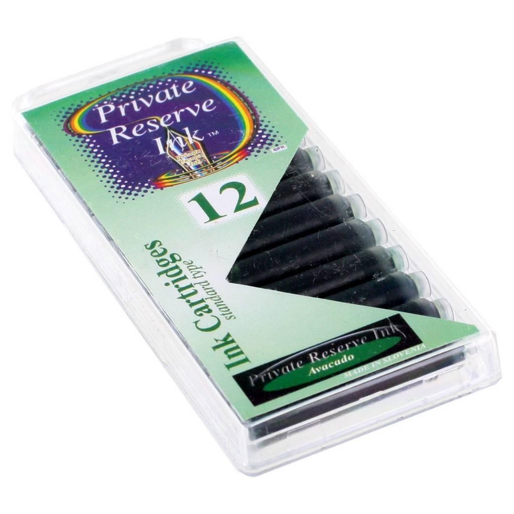 PRIVATE RESERVE PRIVATE RESERVE INK CARTRIDGES AVOCADO
