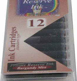 PRIVATE RESERVE PRIVATE RESERVE INK CARTRIDGES BURGUNDY MIST
