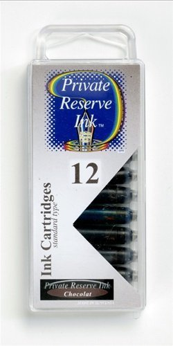 PRIVATE RESERVE PRIVATE RESERVE INK CARTRIDGES CHOCOLAT