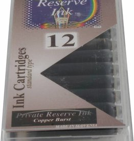 PRIVATE RESERVE PRIVATE RESERVE INK CARTRIDGES COPPER BURST