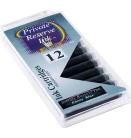PRIVATE RESERVE PRIVATE RESERVE INK CARTRIDGES EBONY BLUE