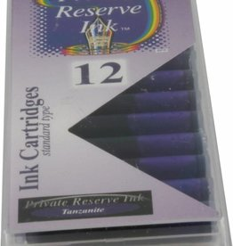 PRIVATE RESERVE PRIVATE RESERVE INK CARTRIDGES TANZANITE