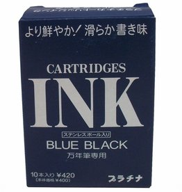 PLATINUM PLATINUM BLUE-BLACK CARTRIDGES