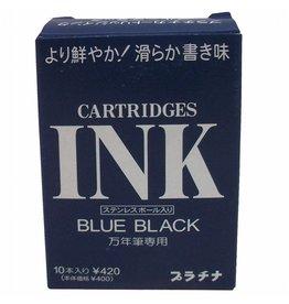 PLATINUM PLATINUM BLUE-BLACK CARTRIDGES