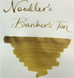 NOODLER'S DROMGOOLE'S EXCLUSIVE BOTTLED INK 3 OZ BANKERS TAN