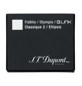 S. T. DUPONT S. T. DUPONT CLASSIQUE 2 INK CARTRIDGES BLUE BLACK