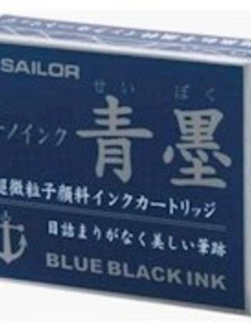 SAILOR SAILOR JENTLE INK CARTRIDGES BLUE/BLACK