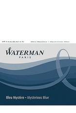 WATERMAN WATERMAN INK CARTRIDGES MYSTERIOUS BLUE