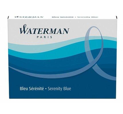 WATERMAN WATERMAN SERENITY BLUE - INK CARTRIDGES