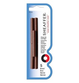 SHEAFFER SHEAFFER INK CARTRIDGES BROWN