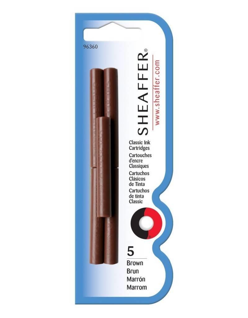 SHEAFFER SHEAFFER INK CARTRIDGES BROWN