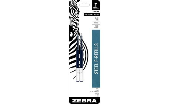 ZEBRA ZEBRA F301 BALLPOINT REFILLS