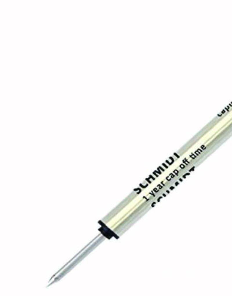 SCHMIDT SCHMIDT 8127 CAP-LESS ROLLERBALL REFILLS
