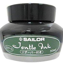SAILOR SAILOR JENTLE BOTTLED INK WITH RESERVOIR DYE BASED EPINARD