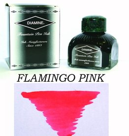 DIAMINE DIAMINE BOTTLED INK 80ML FLAMINGO PINK