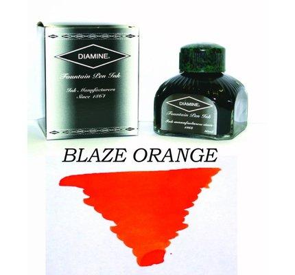 DIAMINE DIAMINE STANDARD BOTTLED INK 80 ML - BLAZE ORANGE