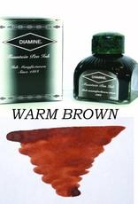 DIAMINE DIAMINE DARK BROWN - 80ML BOTTLED INK