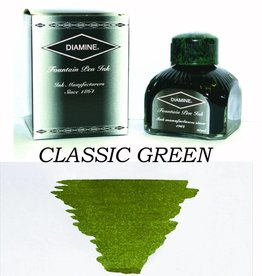 DIAMINE DIAMINE BOTTLED INK 80ML CLASSIC GREEN