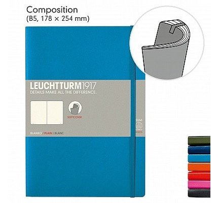 LEUCHTTURM1917 LEUCHTTURM1917 COMPOSITION SOFTCOVER NOTEBOOK
