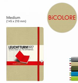 LEUCHTTURM LEUCHTTURM BI-COLOR MEDIUM (A5) NOTEBOOK