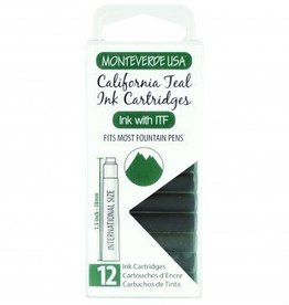 MONTEVERDE MONTEVERDE CALIFORNIA TEAL - INK CARTRIDGES