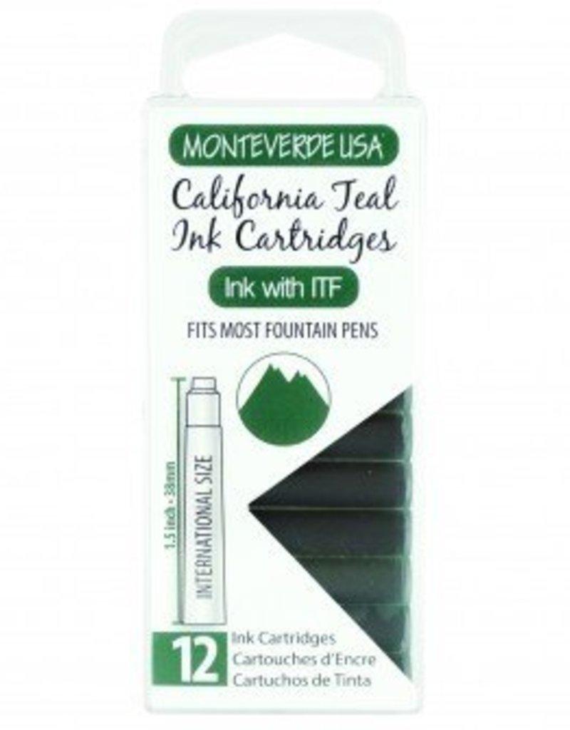 MONTEVERDE MONTEVERDE CALIFORNIA TEAL - INK CARTRIDGES