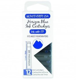 MONTEVERDE MONTEVERDE INK CARTRIDGES HORIZON BLUE