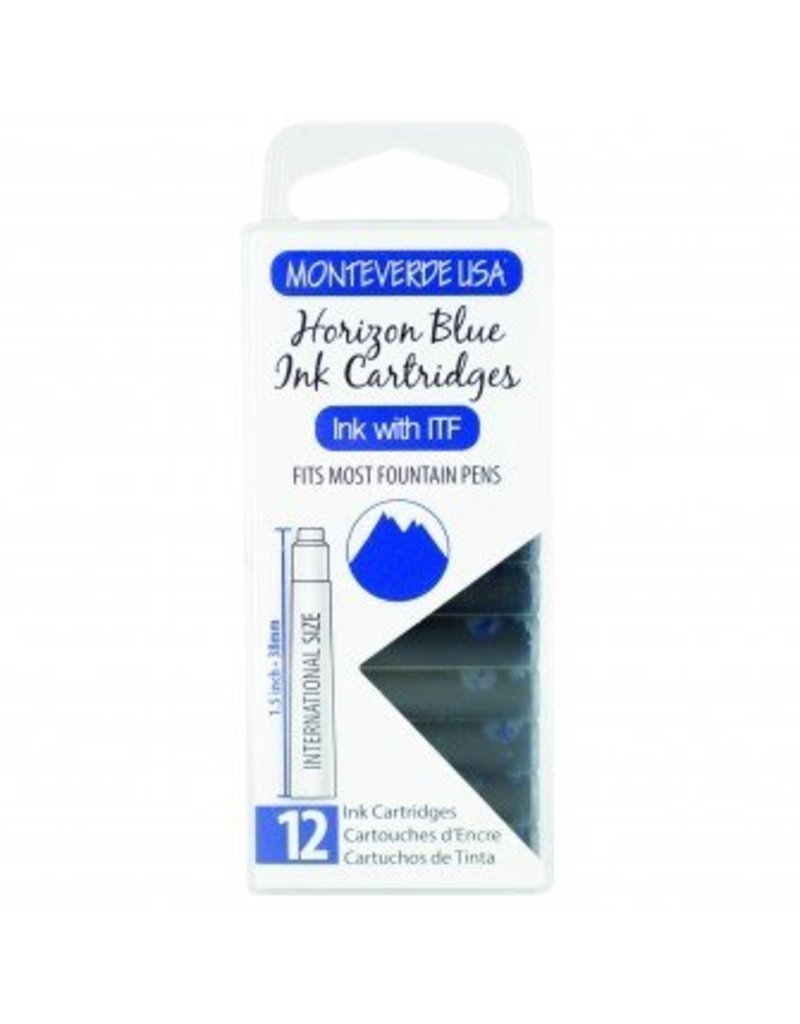 MONTEVERDE MONTEVERDE HORIZON BLUE - INK CARTRIDGES