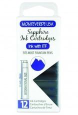 MONTEVERDE MONTEVERDE SAPPHIRE - INK CARTRIDGES