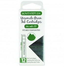 MONTEVERDE MONTEVERDE INK CARTRIDGES YOSEMITE GREEN