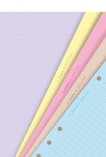 FILOFAX FILOFAX CLASSIC RULED COLORED NOTEPAPER A5