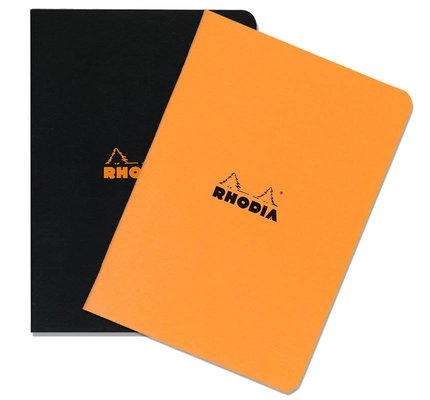 RHODIA RHODIA A4 LARGE SIZE SIDE-STAPLED PAD
