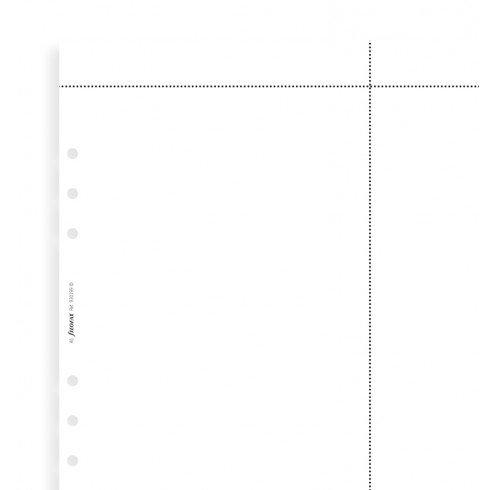 FILOFAX FILOFAX A5 ORGANIZER WHITE LASER PAPER