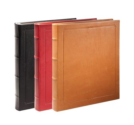 "GRAPHIC IMAGE GRAPHIC IMAGE 11"" HARDCOVER JOURNAL TRADITIONAL LEATHER"