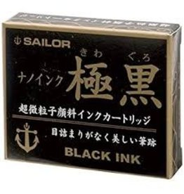 SAILOR SAILOR JENTLE INK CARTRIDGES BLACK