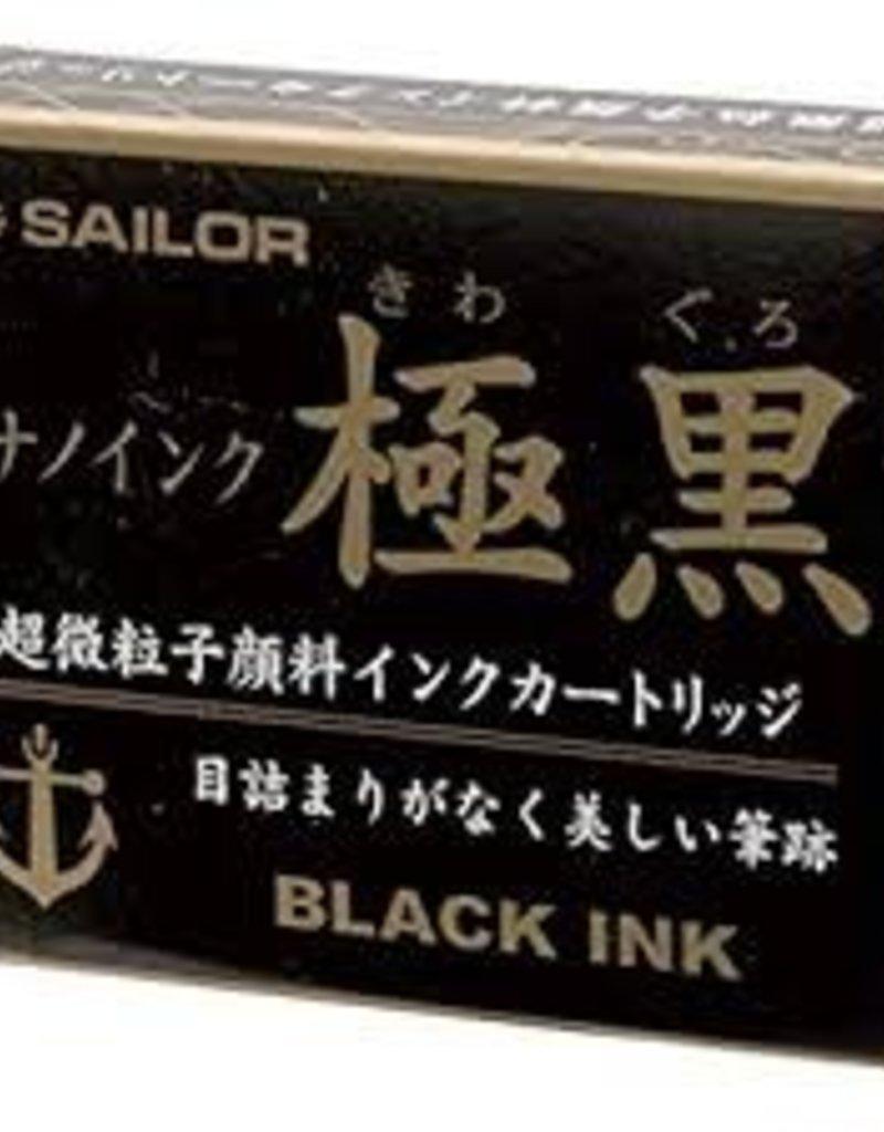 SAILOR SAILOR JENTLE INK CARTRIDGES BLACK