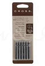 A. T. CROSS A. T. CROSS SLIM INK CARTRIDGES BLACK