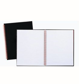 BLACK N' RED BLACK N' RED NOTEBOOK WIREBOUND,PERF 11 X 8 1/2