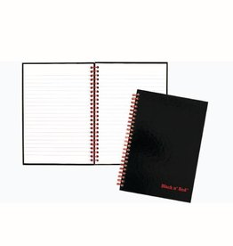 BLACK N' RED BLACK N' RED NOTEBOOK WIREBOUND 8 1/4 X 5 7/8
