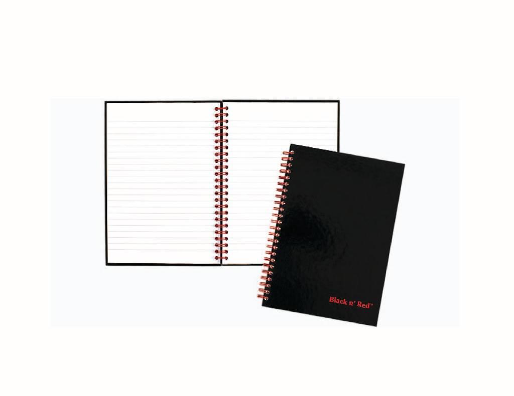 BLACK N' RED BLACK N' RED NOTEBOOK WIREBOUND 8 1/4 X 5 7/8