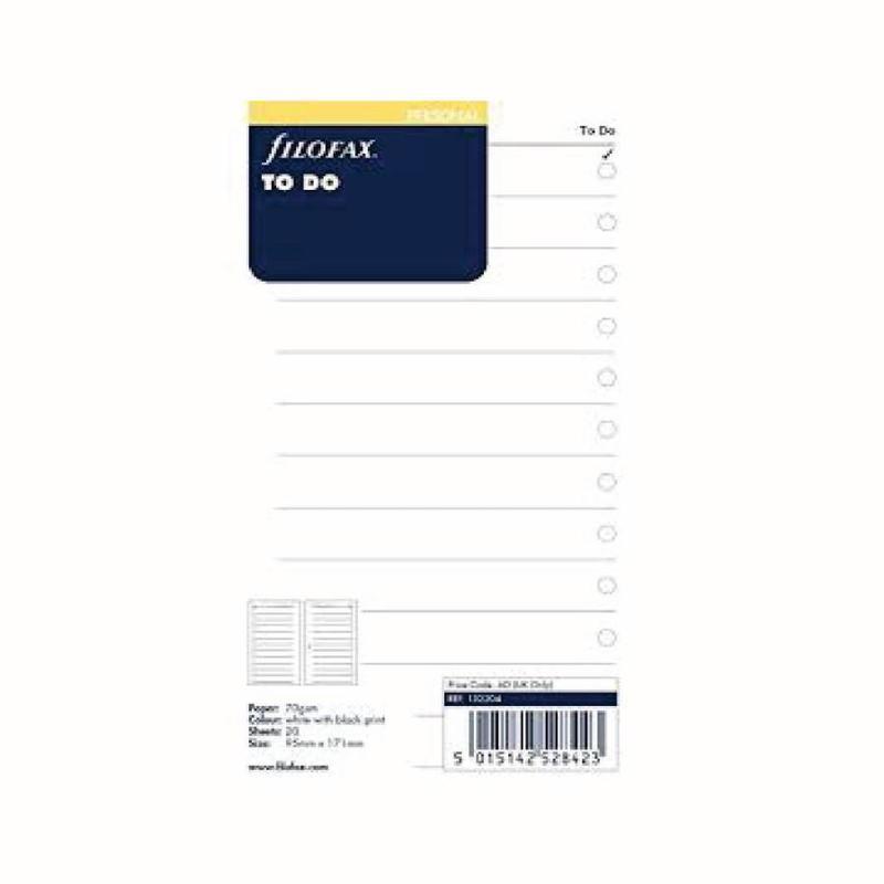 Filofax Filofax Personal - To Do List