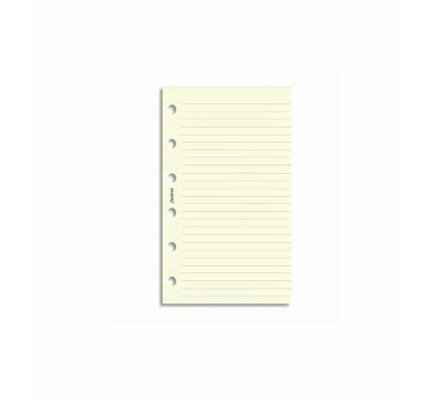 FILOFAX FILOFAX NOTEPAPER POCKET CREAM RULED