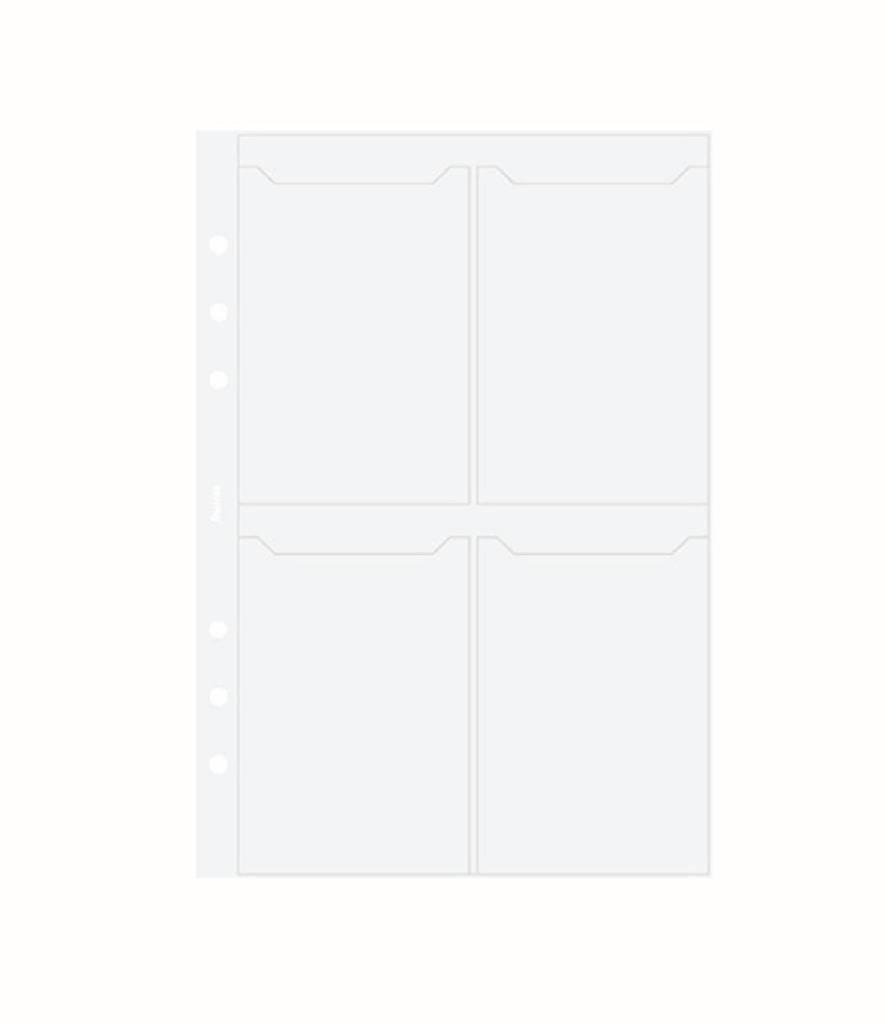 FILOFAX FILOFAX A5 BUSINESS CARD HOLDER