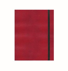 CASPARI CASPARI SNAKESKIN CRIMSON LINED JOURNAL A5