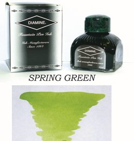 DIAMINE DIAMINE BOTTLED INK 80ML SPRING GREEN