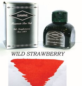 DIAMINE DIAMINE BOTTLED INK 80ML WILD STRAWBERRY